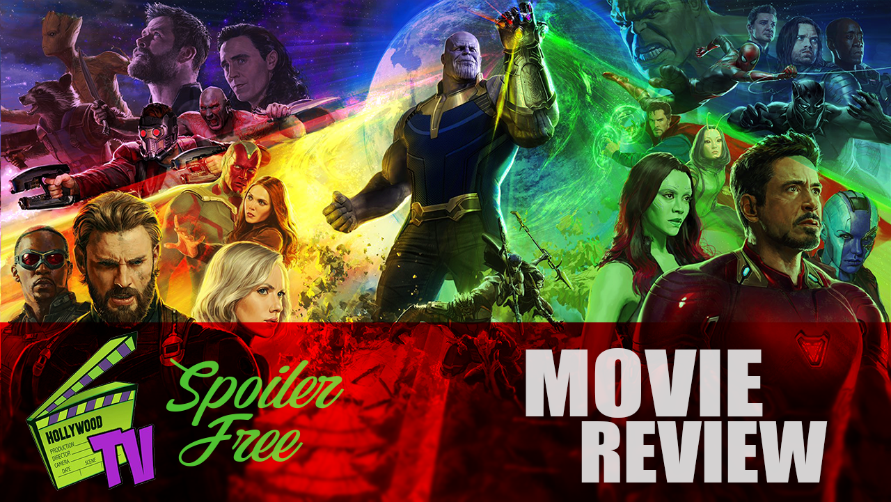 MOVIE REVIEW [SPOILER FREE]- AVENGERS: INFINITY WAR (PODCAST)